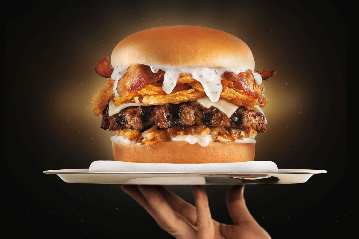 Carl S Jr Serves Up New Bacon Truffle Burger 2019 03 27