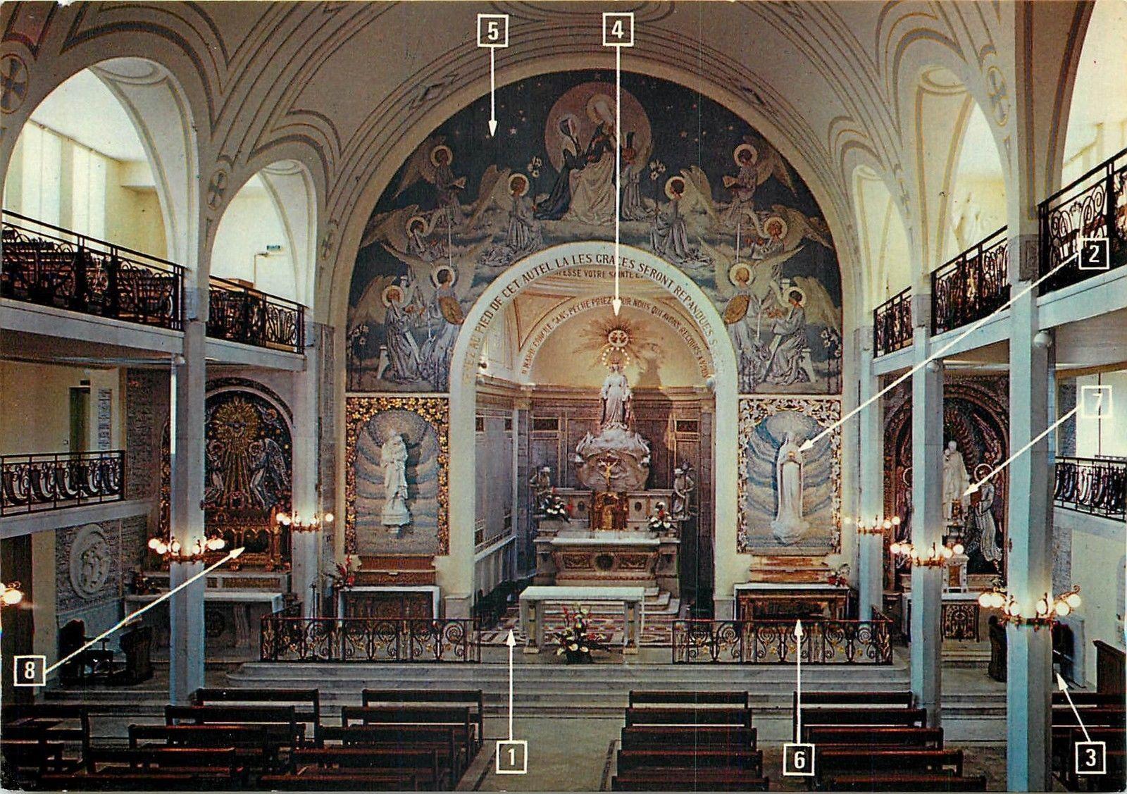 De Medaille Notre Dame Paris La Miraculeuse Chapelle