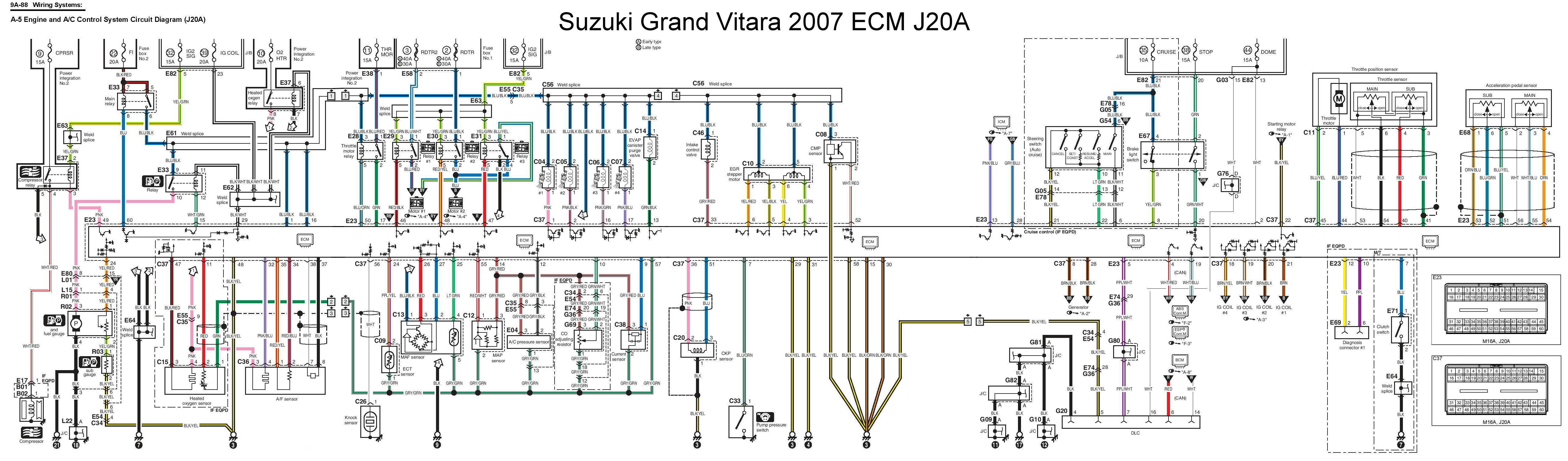 WRG-7511] Suzuki Xl7 Fuse Box Diagram on