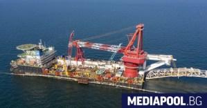 Газпром обявява Северния поток 2 за напълно завършен