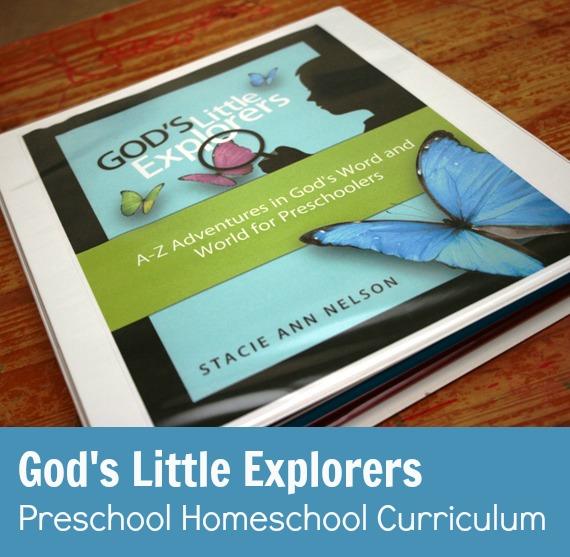 God's Little Explorers Preschool Homeschool Curriculum ...