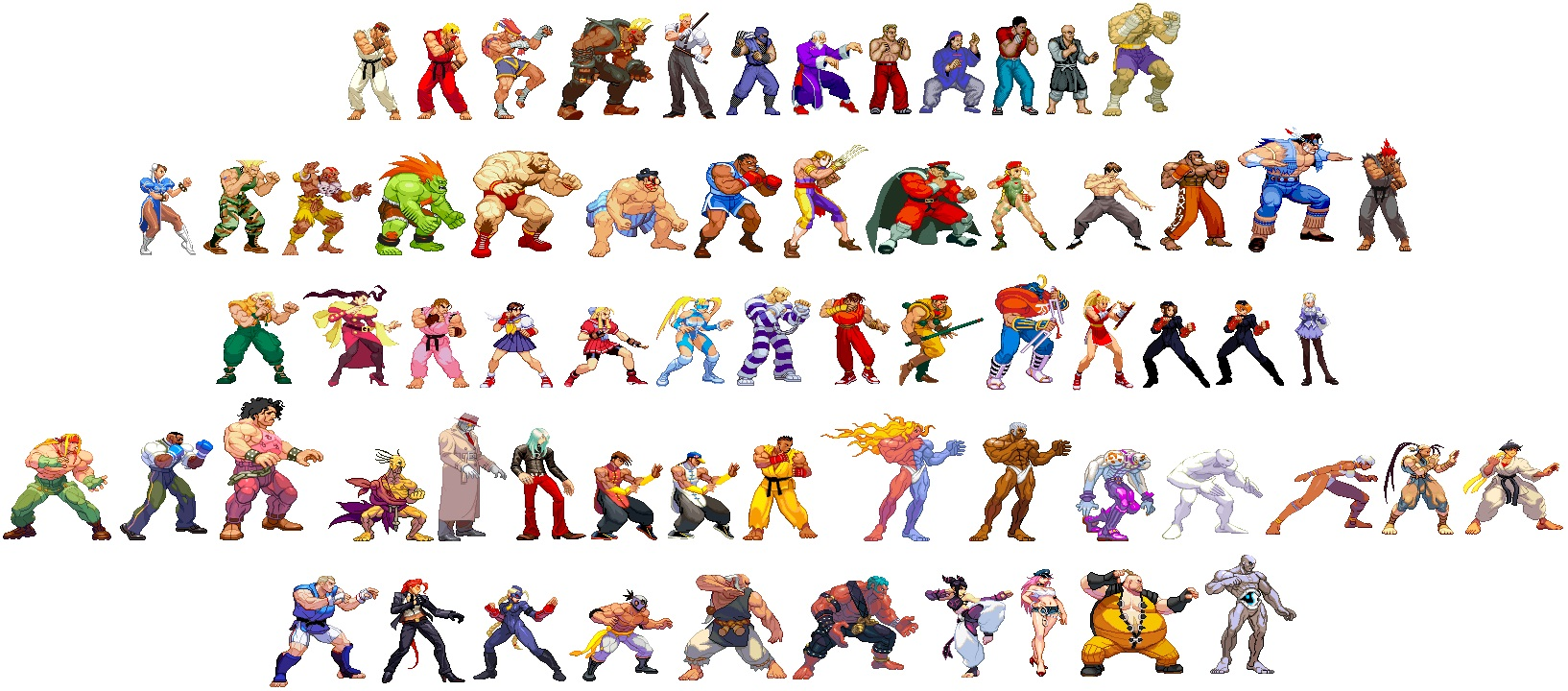 Mega8 The Tuesday Quiz: Street Fighter Characters