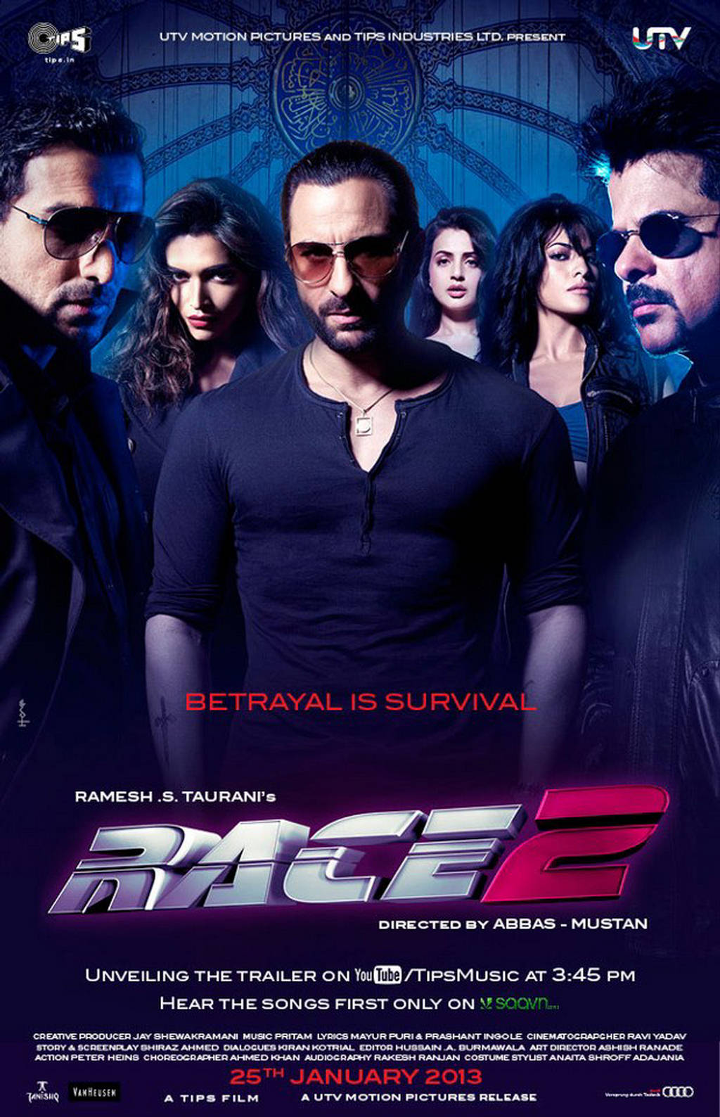 Race 2 Movie Dialogues (Complete List) - Meinstyn