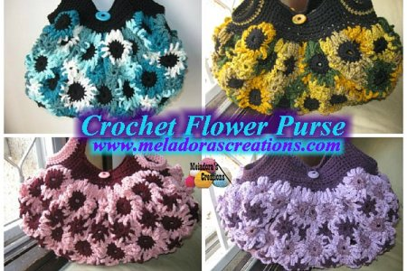 Blue Flowers 2018 Extra Large Crochet Flower Pattern Blue Flowers