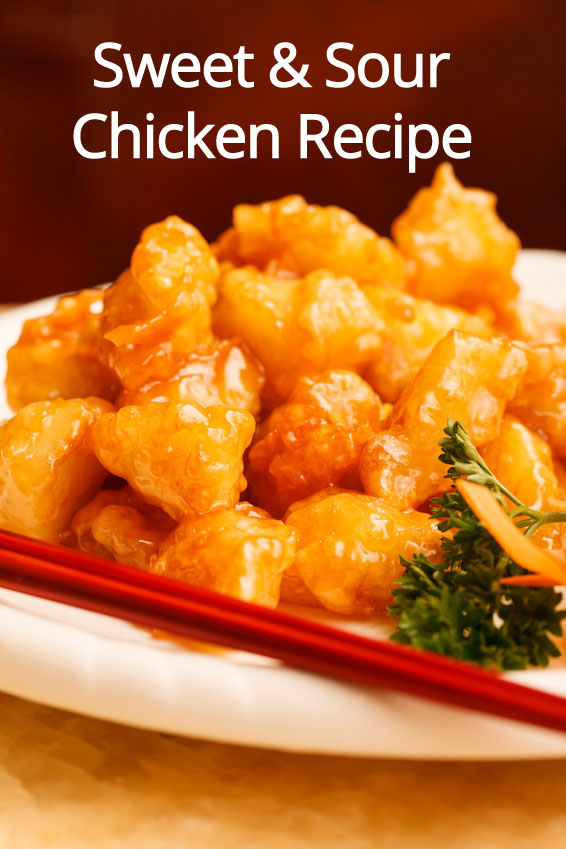 Homemade Chinese Sweet Amp Sour Chicken Recipe Melanie Cooks