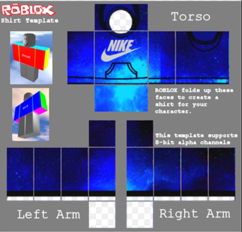 Shirt T Roblox Nike Red