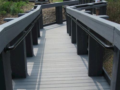 104 Secondary Stair Rail At Menards®   Outdoor Stair Railing Menards