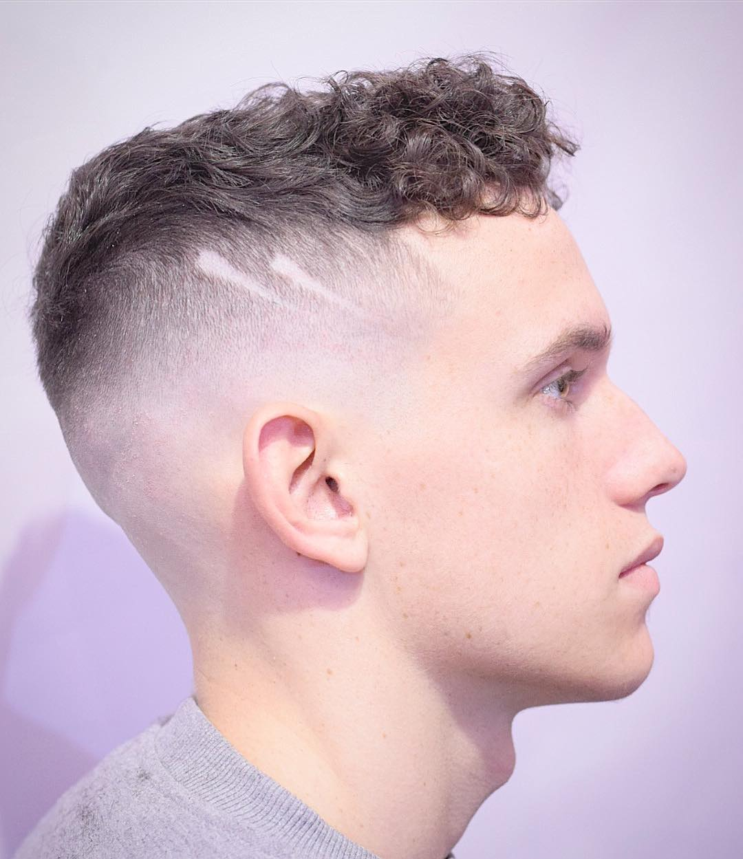 Curlkalon Shaven Sides
