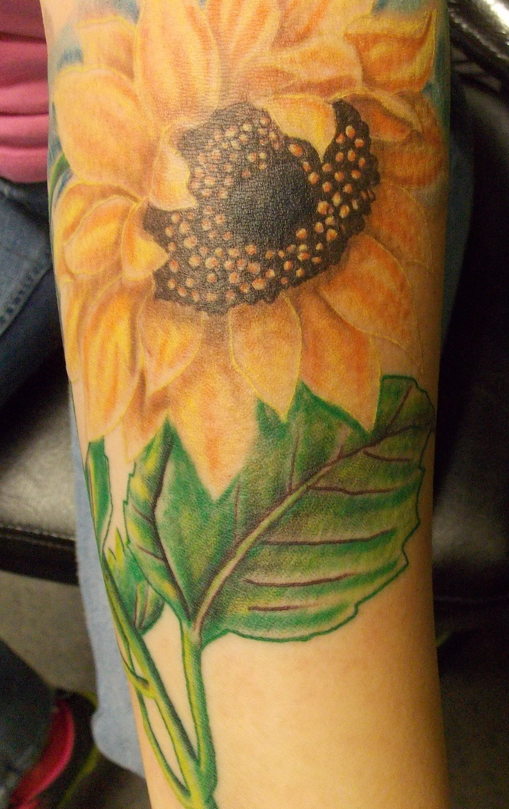 Sunflower Tattoos for Men - Ideas and Inspiration for Guys