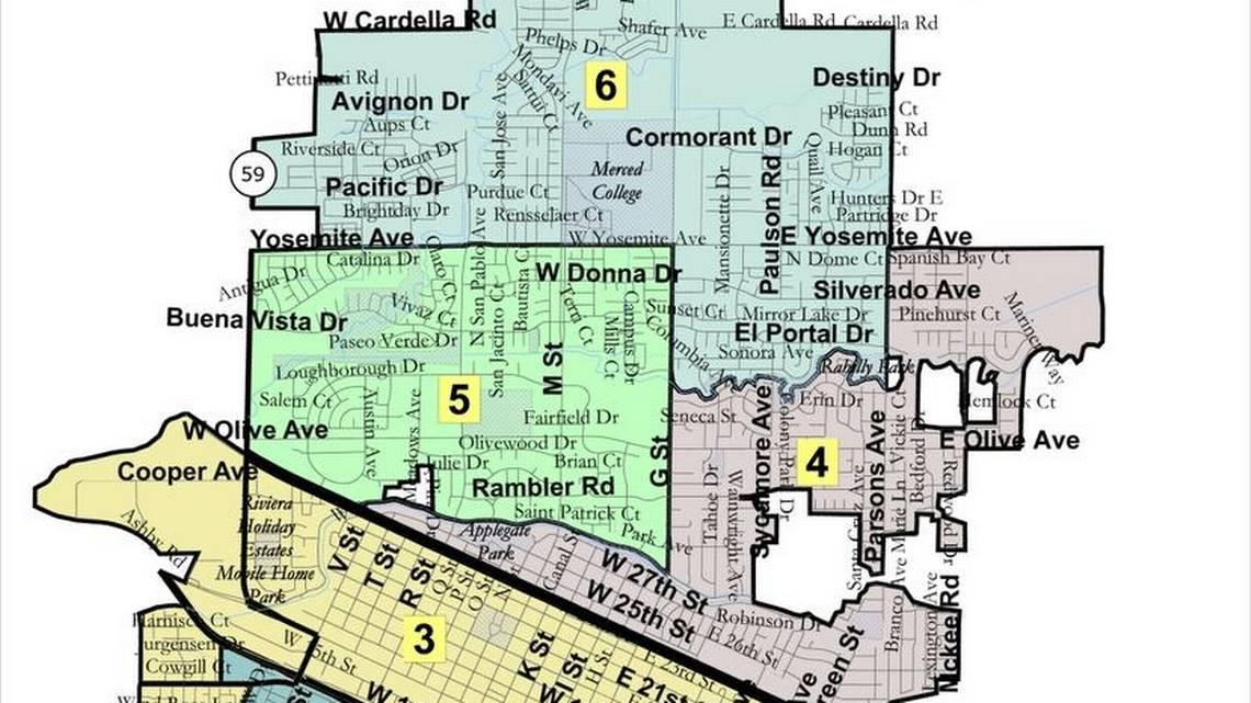 City Of Livingston Ca Map