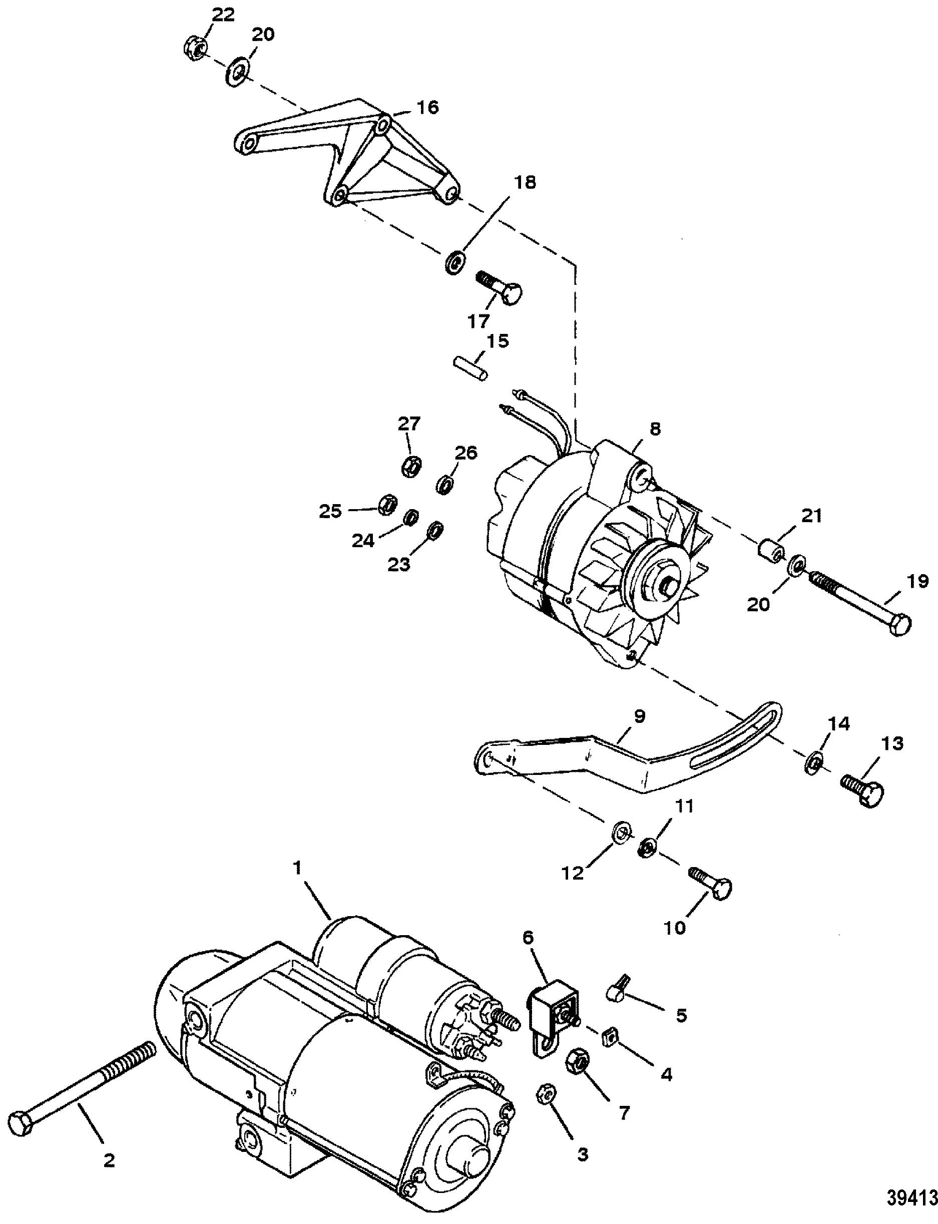 Fantastic 454 mercruiser wiring diagram gallery electrical diagram