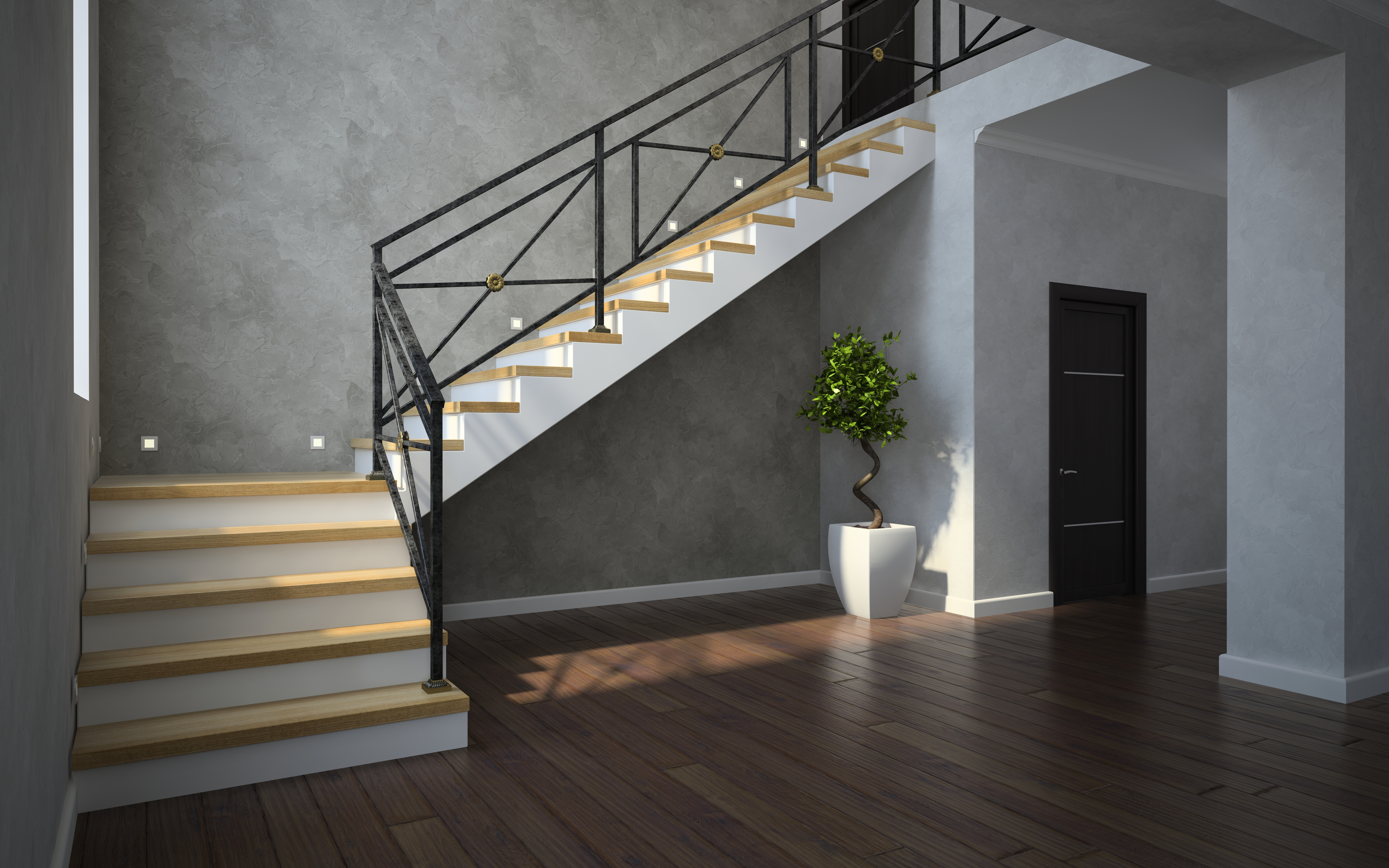 Staircase Railing Styles That Will Elevate Your Design Merit | Wood And Iron Stair Railing | Banister | Reclaimed Wood | Wrought Iron Staircase Used | Ss Railing Design | Metal