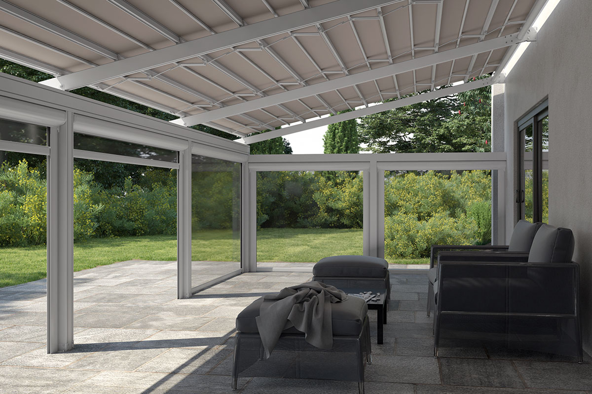 Retractable Pergola Top Star Metaform Shading Systems