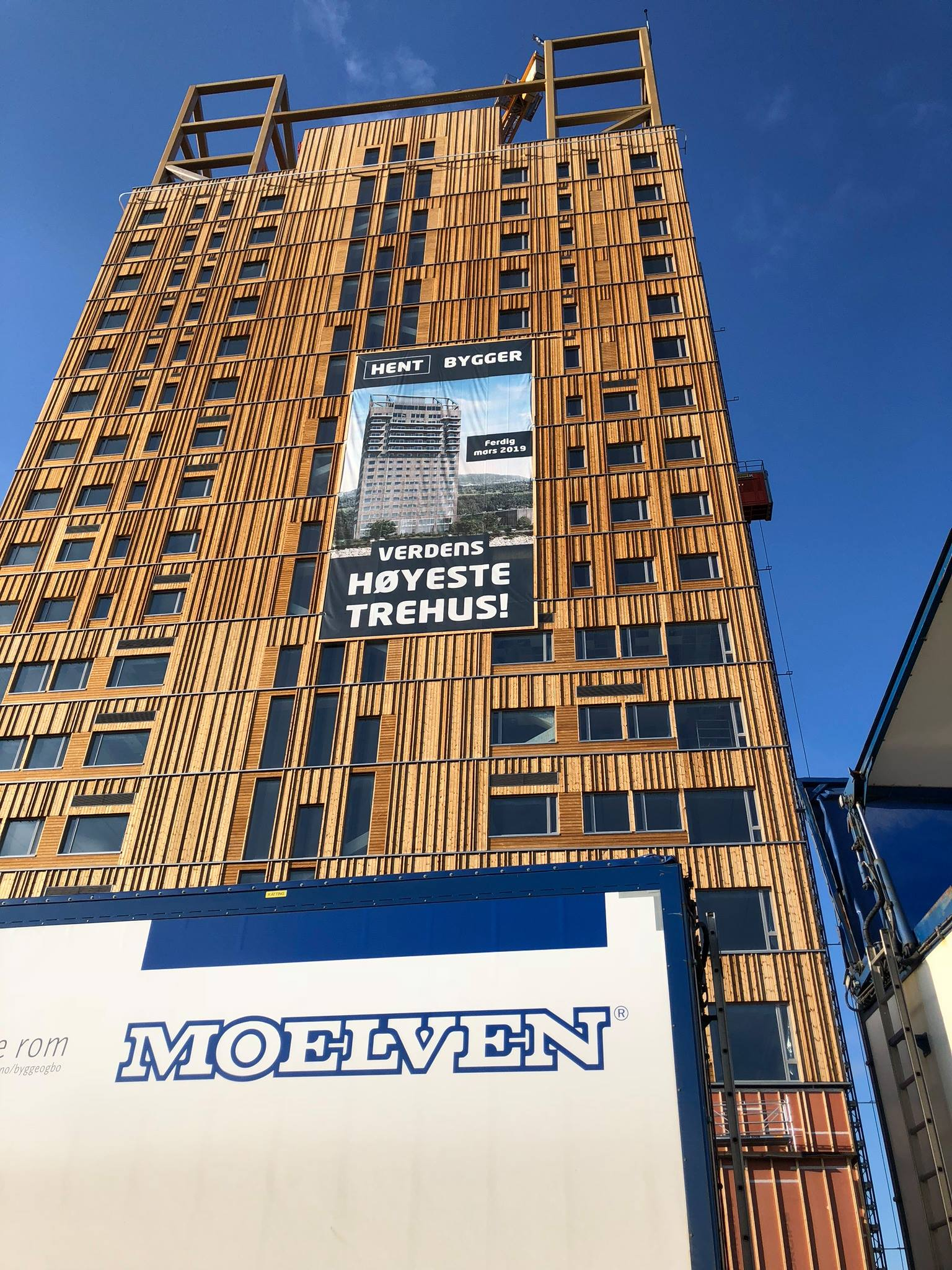 World S Tallest Wooden Building Mj 248 Sa Tower By Voll