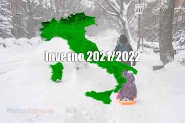 Spettacolo di GELO e NEVE nel meteo dell'Inverno 2021/2022