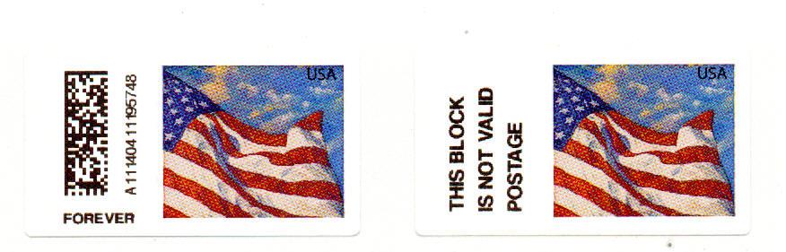 Us Flag Postage Stamp 2013