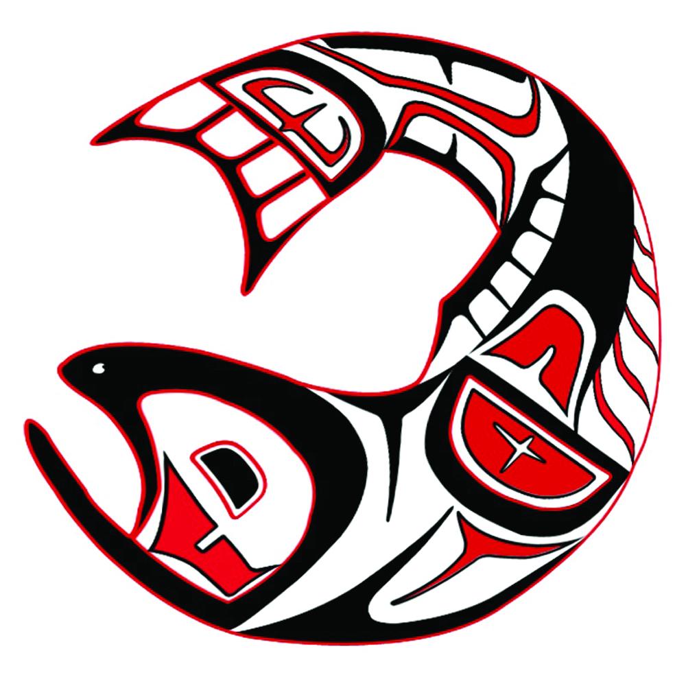 Alaskan Native Art Salmon