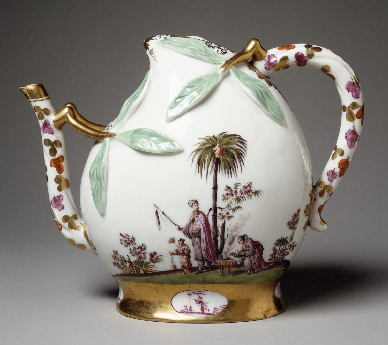 Vase Porcelain German White