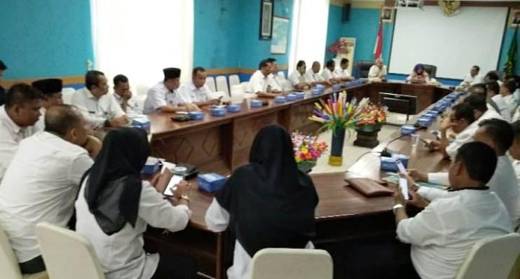 Suasana Audiensi Antara Pemdakab Natuna Dengan PT. Telkom Indonesia