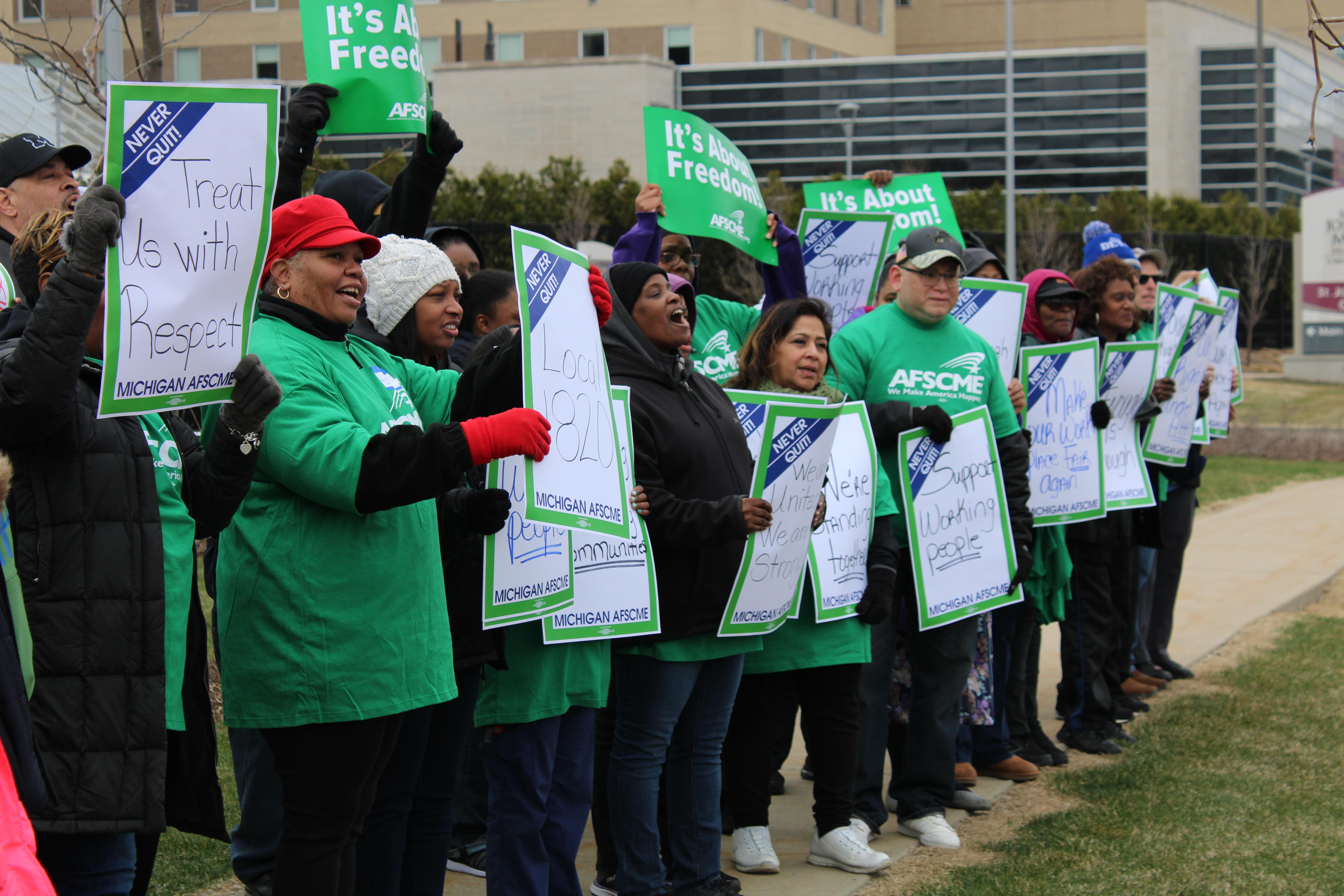 St Joseph Mercy Oakland Members Shows Strength And