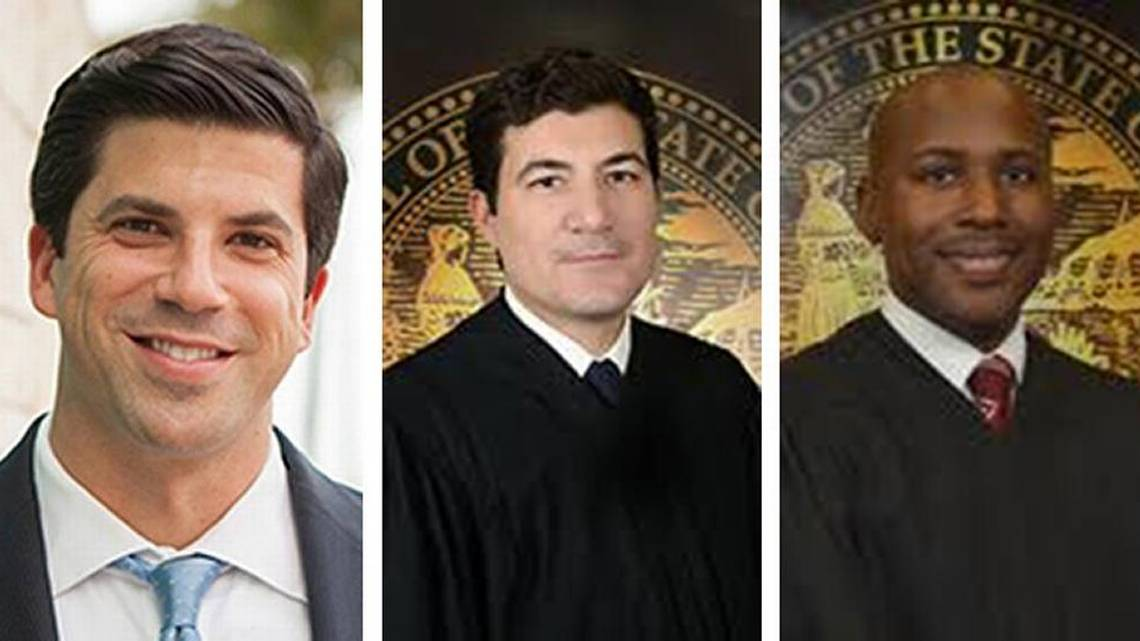 A Former Prosecutor And Two Miami Dade Judges To Be