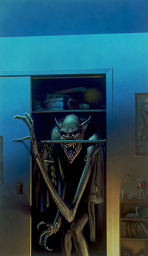 Boogeyman 171 The Art Of Michael Whelan