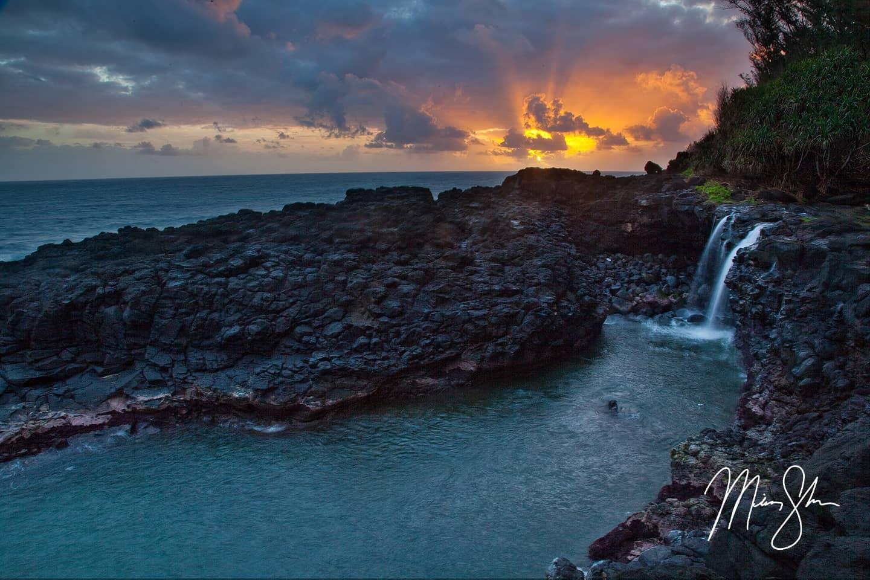 Queens Bath Kauai Hawaii