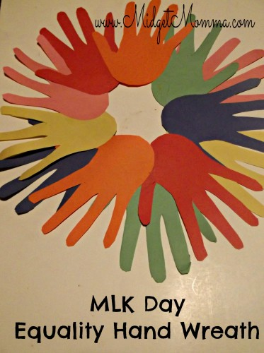 Martin Luther King Day Equality Hands Wreath Craft Project for kids.jpg