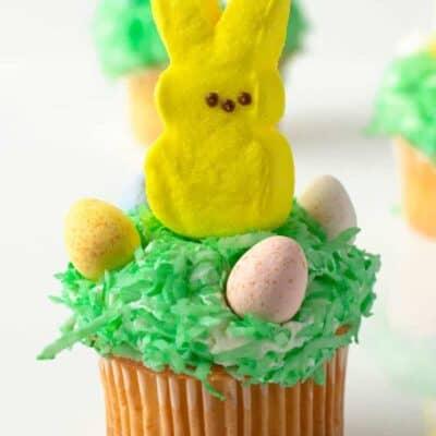 Easter Bunny Peeps Cupcakes