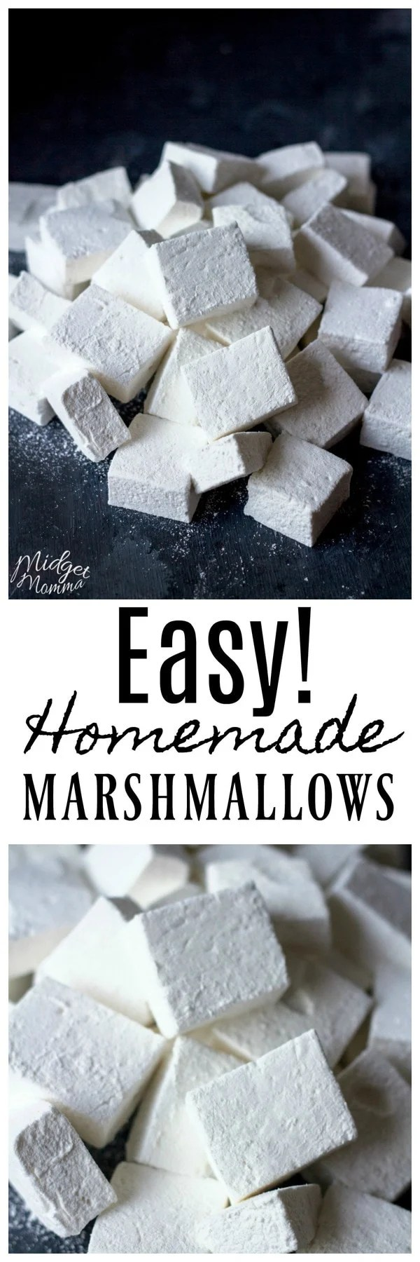 How to make Homemade Marshmallows. Step by step directions on how to make amazing marshmallows at home.