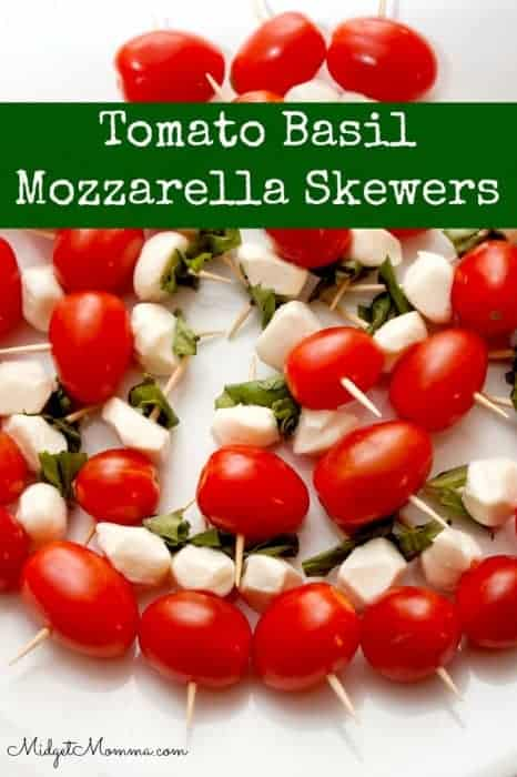 Make our Caprese Salad Skewers as a great appetizer or side dish that is full of flavor while staying low in calories, low carb, and ideal for Weight Watchers!