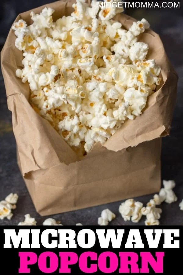 How To Make Microwave Popcorn In A Paper Bag Midgetmomma