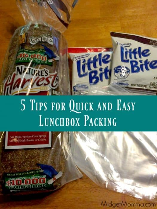 5 Tips for Quick and Easy Lunchbox Packing