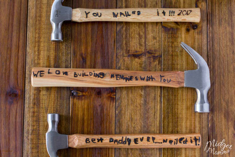 DIY Personalized Father's Day gift