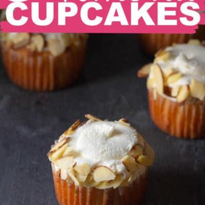 Almond Cupcakes RECIPE