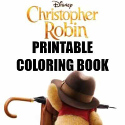 This printable Christopher Robin coloring book is totally free for you to print out! Goes perfect with the Christopher Robin Movie! #Printable #ColoringBook #ColoringPages #Winniethepooh #tigger #ChristopherRobin #kids #FreePrintable