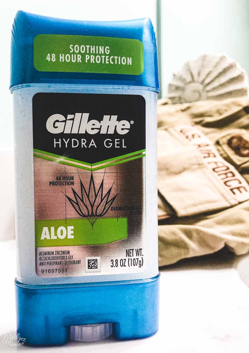 Gillette and operation homefront summer donation