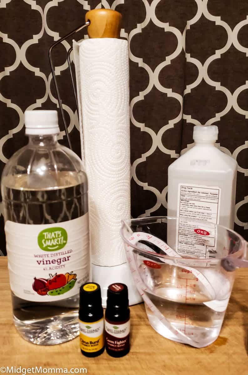 DIY Disinfecting wipes Ingredients