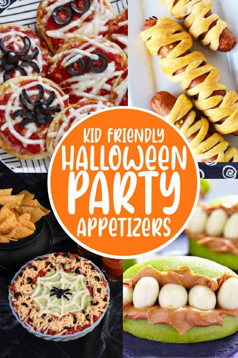 kid friendly halloween party snacks