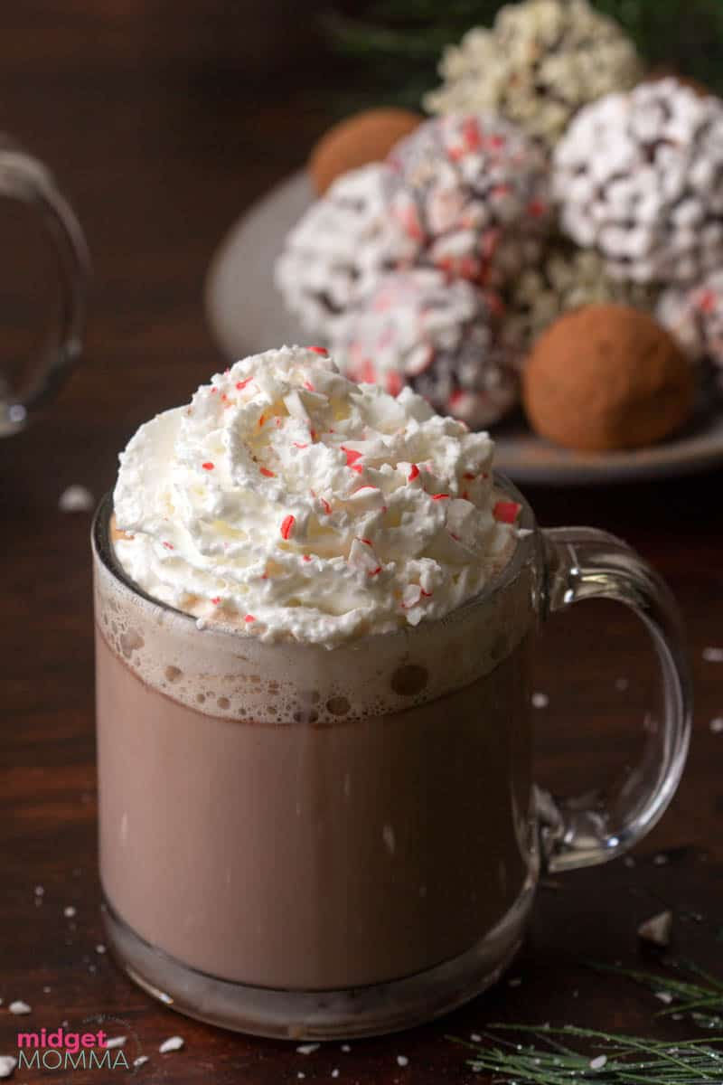 truffle hot chocolate bombs