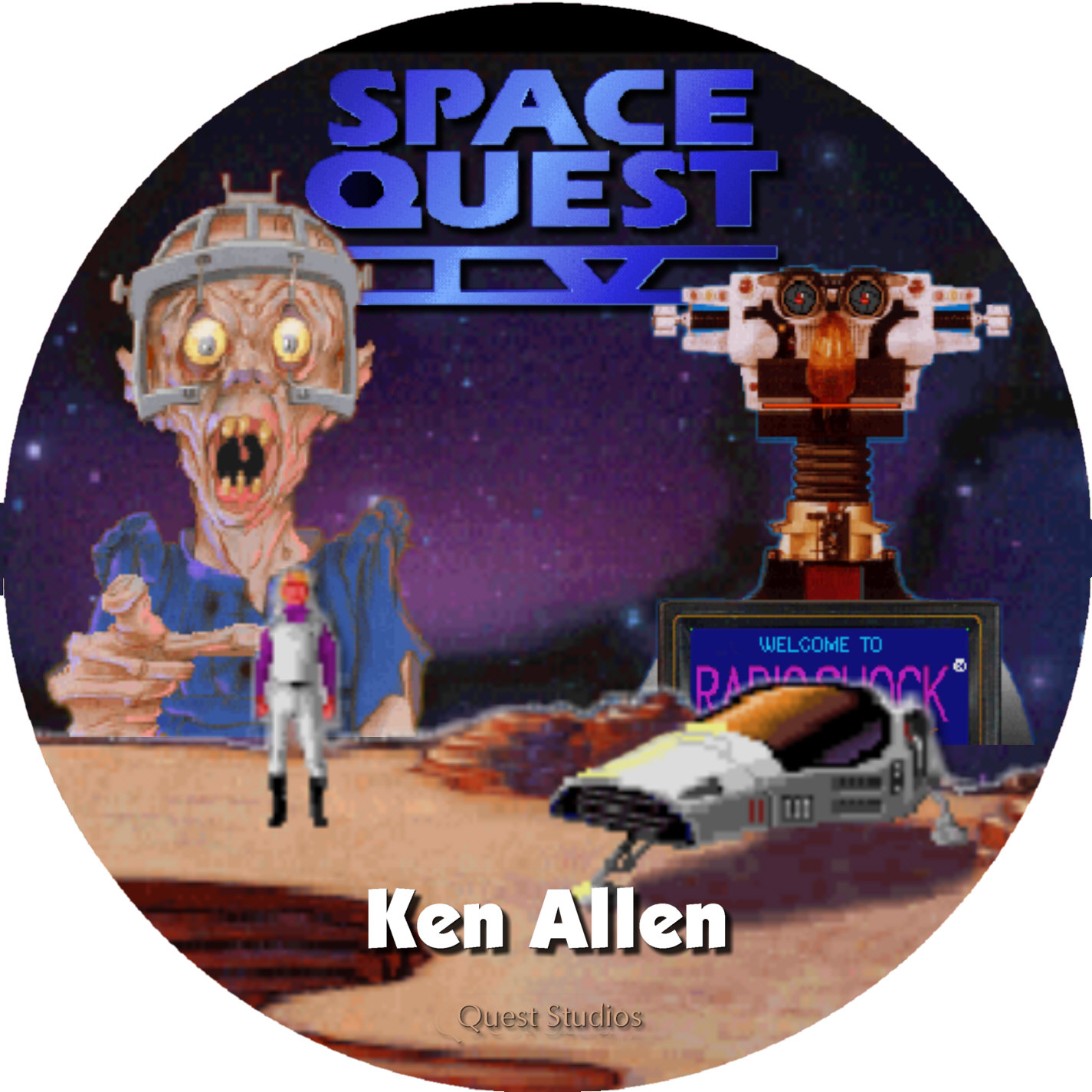 Space Quest Iv Roger Wilco And The Time Rippers 171 The