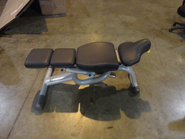 Midwest Used Fitness Equipment Technogym Adjustable Bench