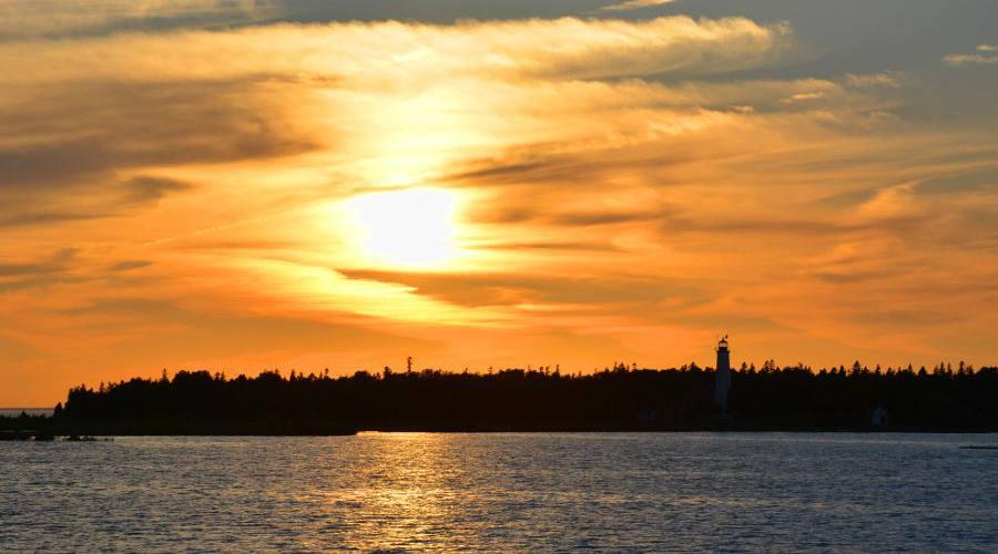Northern Lights Mackinac Island