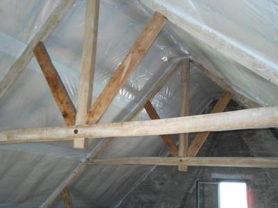 Schuin dak isoleren binnenzijde goedkope meubels goedkope