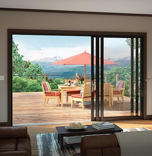 Aluminum Bi Fold Glass Doors Moving Glass Wall Systems