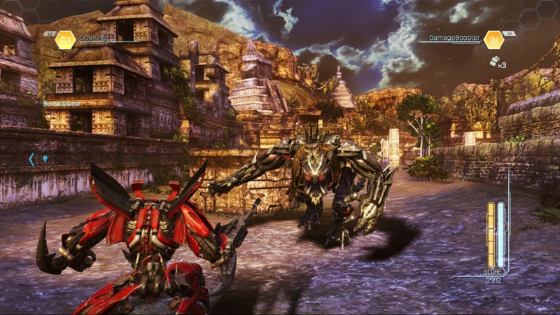 Transformers: Dark of the Moon, Video Game