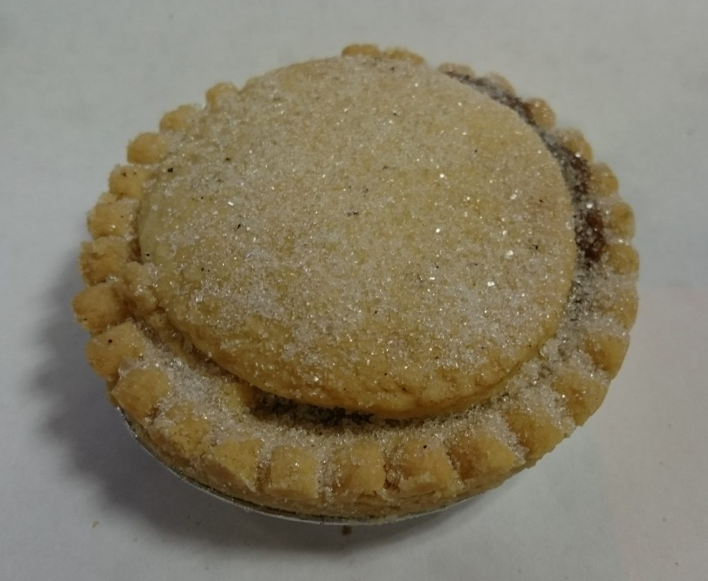 2019 Bramley Village Bakery Shortcrust Mince Pie 3