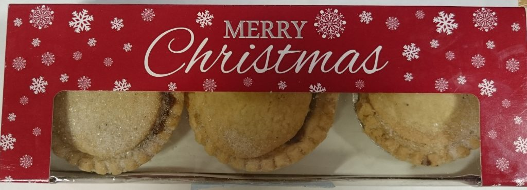 2019 Bramley Village Bakery Shortcrust Mince Pie Box 1