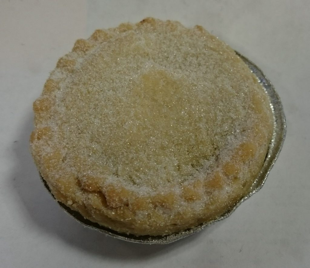 2019 Sainsbury's Bakery Baked in store Mince Pie 2