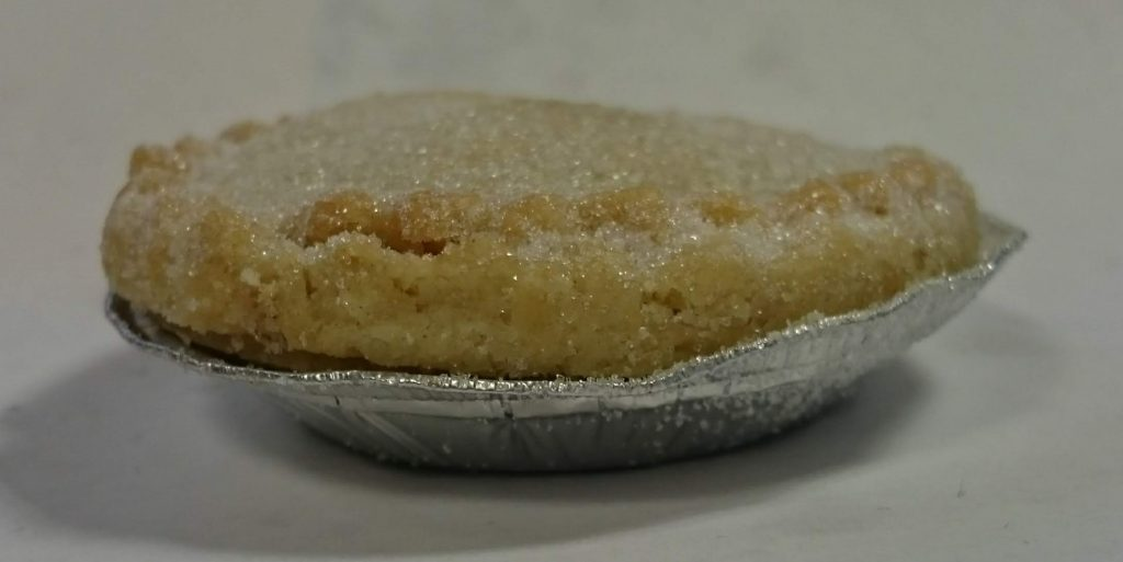 2019 Sainsbury's Bakery Baked in store Mince Pie 4